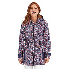 Joe Browns - Multi coloured fun and funky raincoat