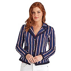 Joe Browns - Multi coloured boating stripe jacket