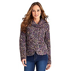 Joe Browns - Purple bright bold jacket
