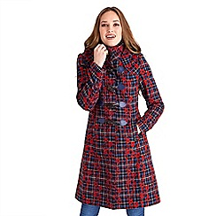Joe Browns - Multi coloured funky floral duffle coat