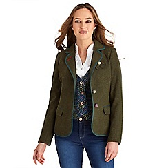 Joe Browns - Green everything jacket