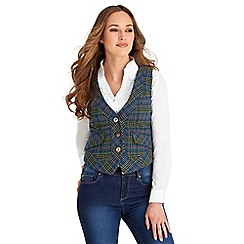 Joe Browns - Multi coloured funky check waistcoat