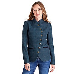 Joe Browns - Blue heritage herringbone jacket