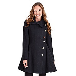 Joe Browns - Dark blue no ordinary herringbone coat