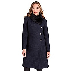 Joe Browns - Navy fabulous coat