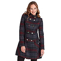 Joe Browns - Multi coloured highland check coat