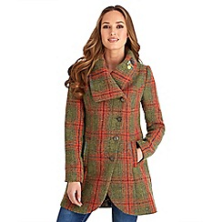 Joe Browns - Multi coloured stand out check coat
