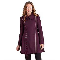 Joe Browns - Plum absolute coat