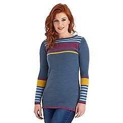 Joe Browns - Multi coloured charismatic colour block sweater