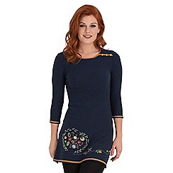 Joe Browns - Navy pick of the season longline tunic