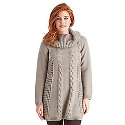 Joe Browns - Natural chunky cable jumper