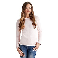Joe Browns - Pale pink sweet love heart jumper
