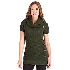 Joe Browns - Khaki chunky tunic knit