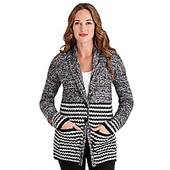 Joe Browns - Grey quirky chunky cable knit
