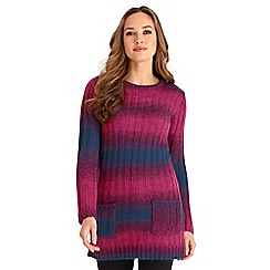 Joe Browns - Multi coloured chunky funky knit tunic