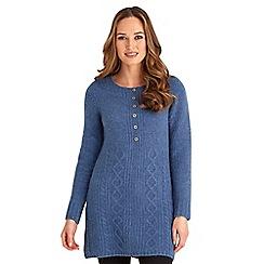 Joe Browns - Blue winter wonderland knit