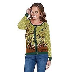Joe Browns - Green outdoor knit