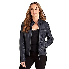 Joe Browns - Navy amazing leather jacket