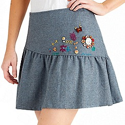Joe Browns - Blue brilliant button skirt