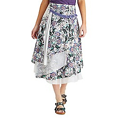 Joe Browns - Multi coloured wear in the wind skirt
