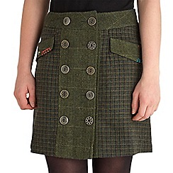 Joe Browns - Green check heritage skirt