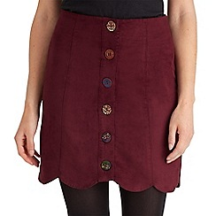 Joe Browns - Dark red one and only button through skirt