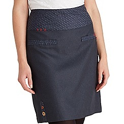 Joe Browns - Blue perfect pinstripe skirt