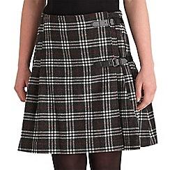 Joe Browns - Multi coloured check skirt with attitude