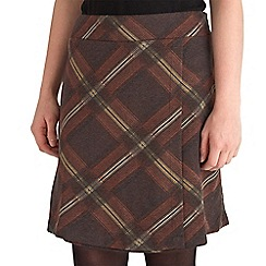 Joe Browns - Brown check me out skirt