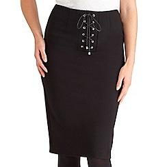 Joe Browns - Black corset ponteroma skirt