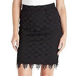 Joe Browns - Black lace skirt
