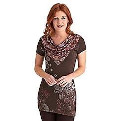 Joe Browns - Chocolate funky funtime top
