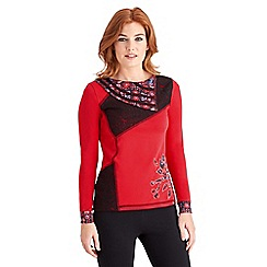 Joe Browns - Red stand out top
