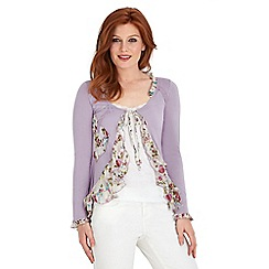 Joe Browns - Lilac versatile vintage top