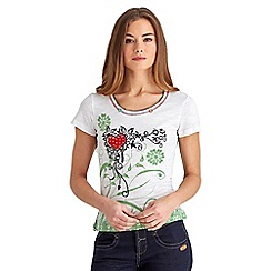 Joe Browns - White love life top