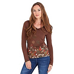 Joe Browns - Brown funky fox top