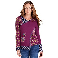 Joe Browns - Purple fabulous bright top