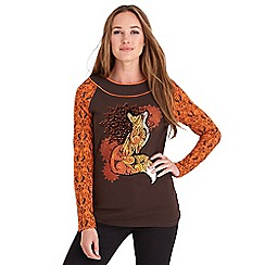 Joe Browns - Brown fabulous fox top