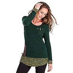 Joe Browns - Green wear it your way top