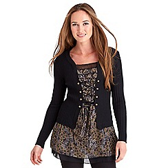 Joe Browns - Black all new effervescent top