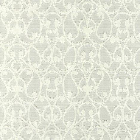 Superfresco Paintables - White Jude Wallpaper