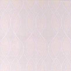 Superfresco Paintables - White Elliot Wallpaper