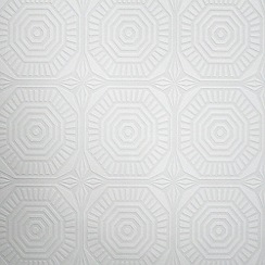 Kelly Hoppen - White Kelly Hoppen geo panel wallpaper