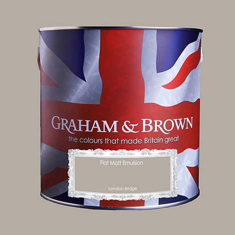 Graham & Brown - Matt finish London bridge paint