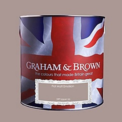 Graham & Brown - Matt finish Stiff upper lip paint