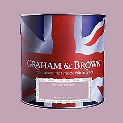 Graham & Brown - Matt finish Flower of Scotland paint