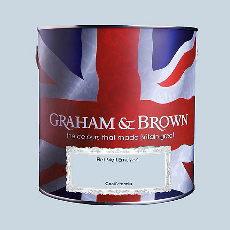 Graham & Brown - Matt finish Cool Britannia paint