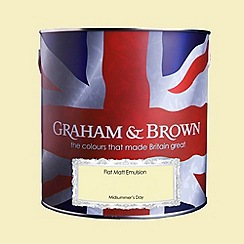 Graham & Brown - Matt finish Midsummers day paint