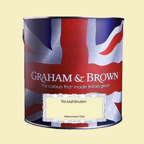 Graham & Brown - Matt finish Midsummers day paint
