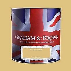 Graham & Brown - Matt finish Yellow submarine paint